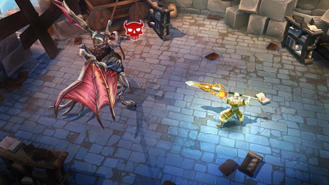 DungeonHunter5 50 Jogos para Android compatíveis com Controle e Gamepad Bluetooth