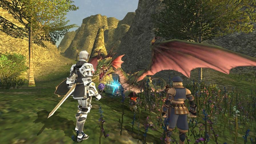 Final_Fantasy_XI_screenshot_2 Final Fantasy XI será lançado para Android e iOS graças a Nexon