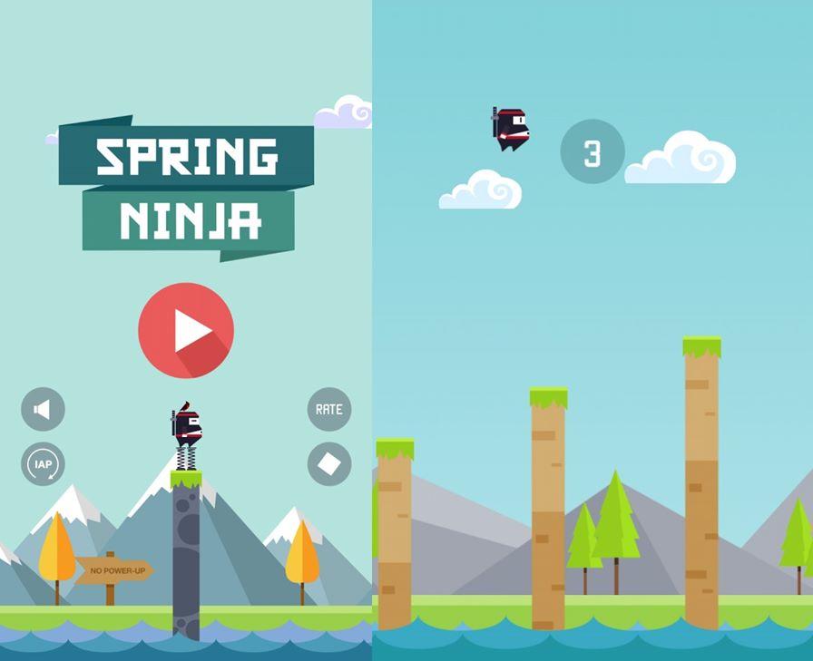 Sprint-Ninja Baixe agora Spring Ninja e tente não jogar o seu celular na parede (Android e iOS)