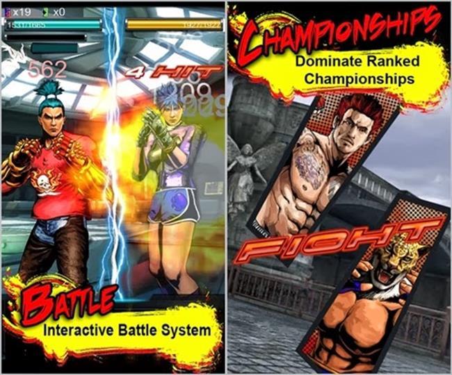 Tekken-Arena3-horz iPhone e iPad: Melhores Jogos Grátis de Fevereiro de 2015