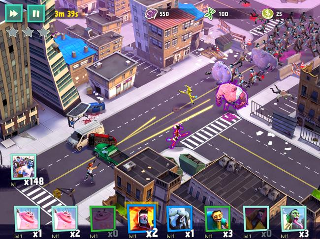 WorldZombination_040814_06 25 Melhores Jogos Grátis para iPhone e iPad - 1º Semestre de 2015