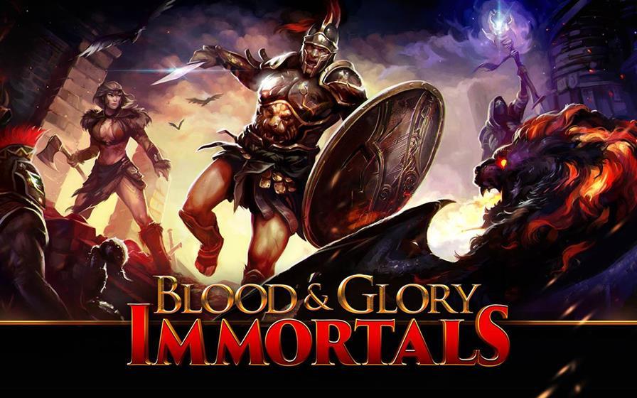 blood-glory-immortals-1 Glu lança Blood & Glory Immortals para Android e iOS! Baixe agora!