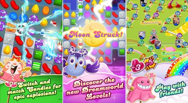 candy-crush-screens Celular esmaga a concorrência e é a plataforma mais popular do Brasil