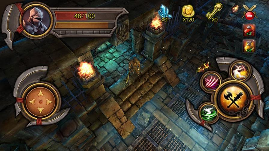 "dante-redemption Dante's Redemption é mais um jogo no estilo ""Dungeon Hunter"" para Android"