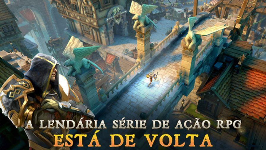 dungeon-hunter-5-ios Melhores Jogos para Android Grátis - Março de 2015