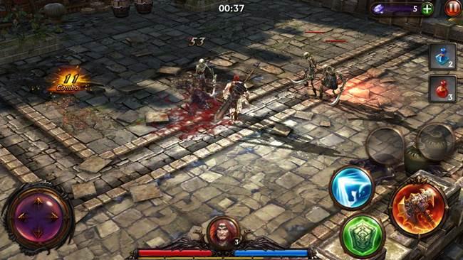 eternitywarriors37 25 Melhores Jogos Grátis para iPhone e iPad - 1º Semestre de 2014
