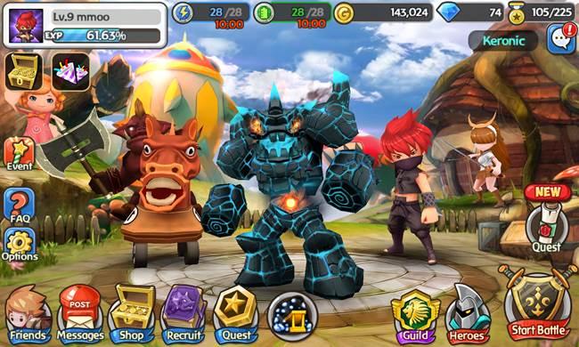 hello-hero 25 Melhores Jogos Grátis para iPhone e iPad - 1º Semestre de 2014