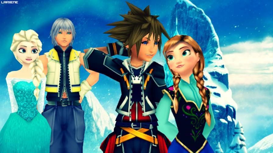kingdom-hearts-frozen Kingdom Hearts cancelado teria Frozen, Star Wars, Wreck It Ralph e muito mais