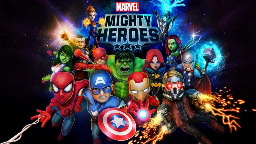 marvel-might-heroes-1 DeNA lança Marvel Mighty Heroes para Android e iOS, mas jogo não empolga!