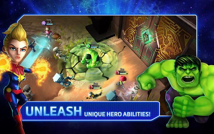 marvel-might-heroes-2 DeNA lança Marvel Mighty Heroes para Android e iOS, mas jogo não empolga!