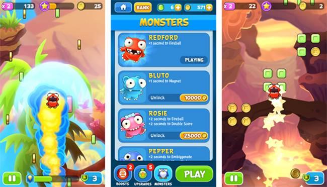 mega-jump-2-2-appspy 25 Melhores Jogos Grátis para iPhone e iPad - 1º Semestre de 2014