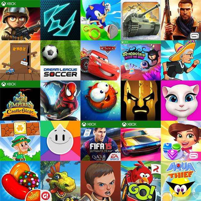 25 Melhores Jogos Grátis para Windows Phone ? 2º Semestre de 2014