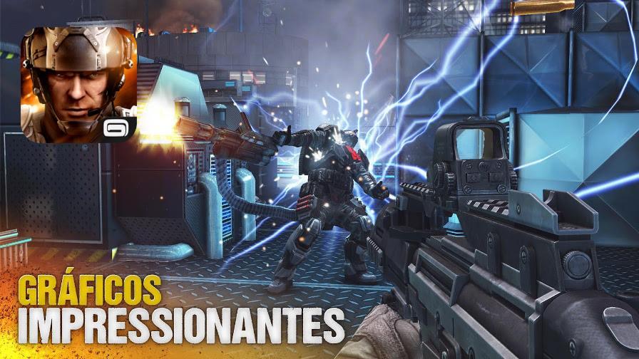 modern-combat-5 50 Jogos para Android compatíveis com Controle e Gamepad Bluetooth
