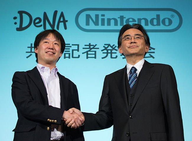 nintendo-dena-partners-phone Como serão os jogos da Nintendo para Android iOS? Dica: Não espere ports dos jogos antigos