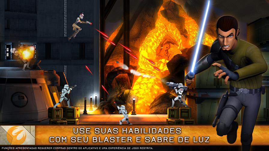 star-wars-rebels-1 Star Wars Rebels: Recon Missions chega para smartphones, mas é um jogo pago