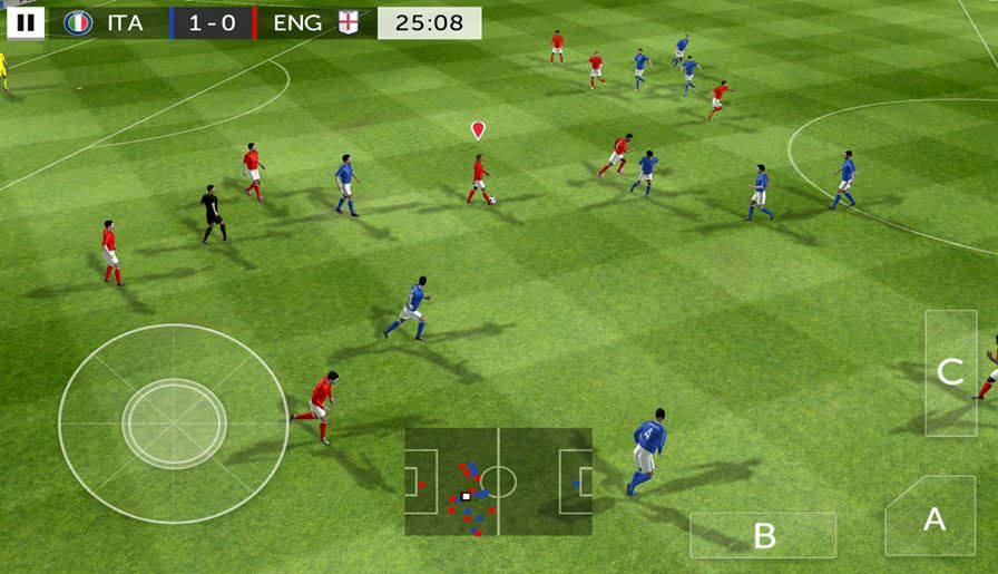 First-Touch-Soccer-2015 Dream League Soccer 2016: a simplicidade que destronou FIFA 16