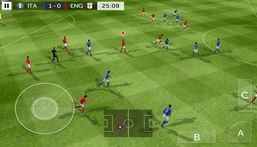 First-Touch-Soccer-2015 Android: 25 Jogos Offline Para Baixar Grátis #3