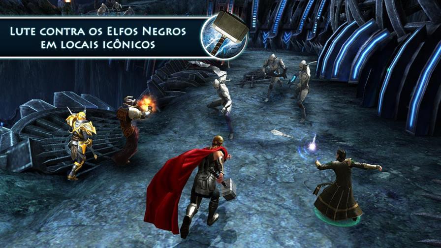 Thor-jogo-android-gameloft Vingadores: Era de Ultron - 10 Jogos para Android com os Personagens do Filme!