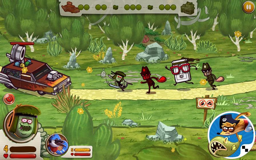 apenas-um-show-guerra-das-pegadinhas Os Melhores Jogos da Cartoon Network para Celular e Tablet Android