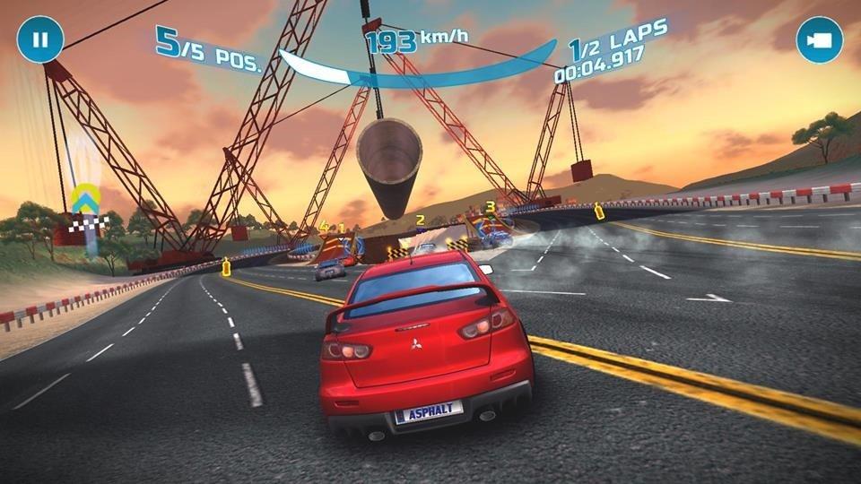 asphalt-nitro-7 25 Melhores Jogos Offline Grátis para Android #4