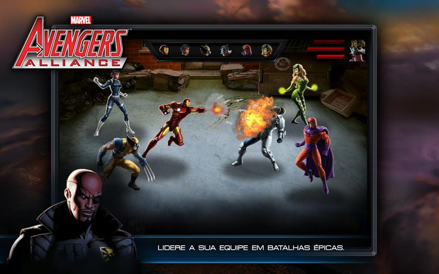 avengers-alliance Vingadores: Era de Ultron - 10 Jogos para Android com os Personagens do Filme!