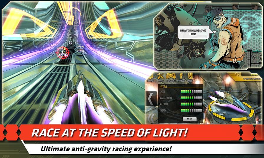 flashout-2s-2 Flashout 2S é um jogo de corrida gratuito que lembra F-Zero GX