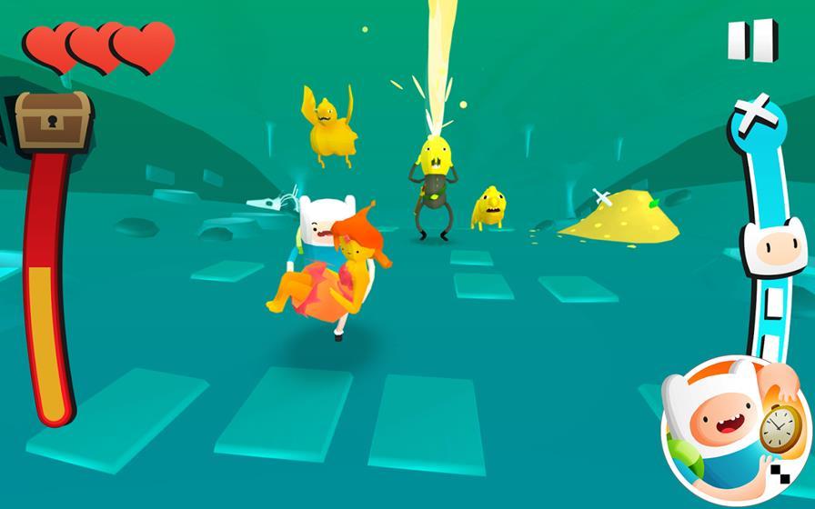 hora-de-aventura-deu-a-louca-no-tempo Os Melhores Jogos da Cartoon Network para Celular e Tablet Android