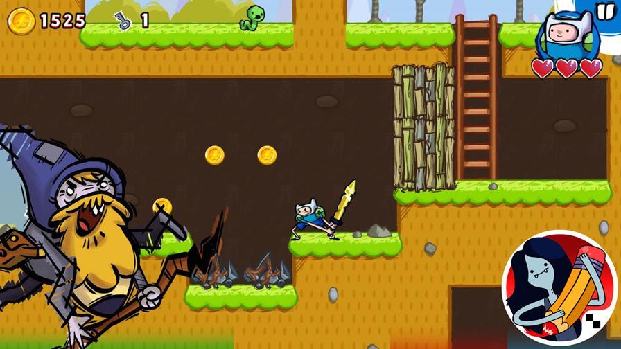 hora-de-aventura-mago-do-jogo 25 Melhores Jogos OFFLINE de Plataforma para Android e iOS