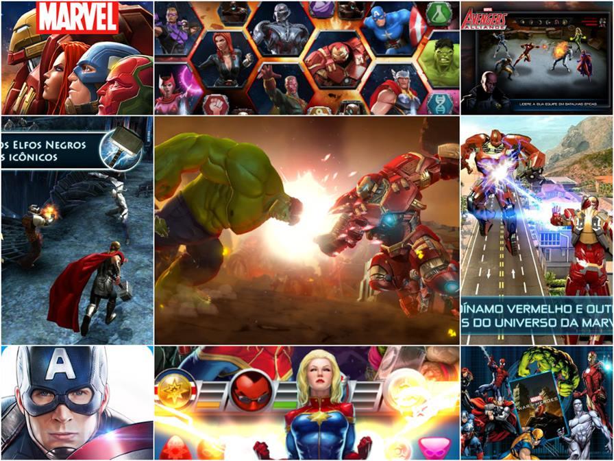 jogos-dos-vingadores-para-android Vingadores: Era de Ultron - 10 Jogos para Android com os Personagens do Filme!