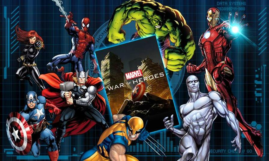 marvel-war-heroes Vingadores: Era de Ultron - 10 Jogos para Android com os Personagens do Filme!