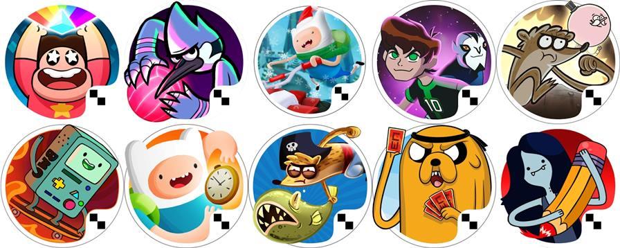 melhores-jogos-cartoon-network-celular-tablet-android Jogos do Cartoon Network para Jogar