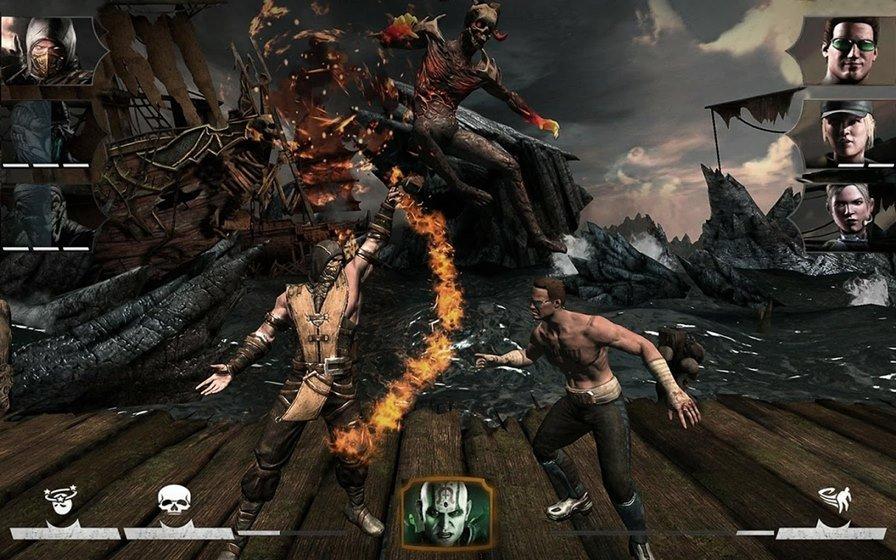 mortal-combat-x-android-1 25 Jogos HD com Gráficos Perfeitos para Android e iOS #1