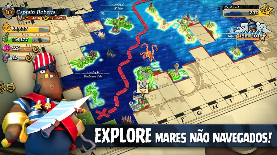 "plunder-pirates-android-ios-2 Plunder Pirates: ""Clash of Clans"" da Rovio tem piratas e é todo em 3D (Android e iOS)"