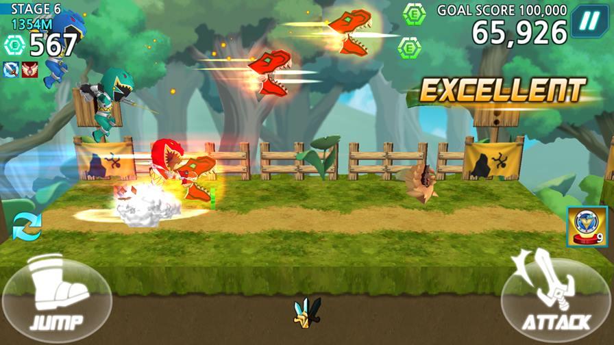 power-rangers-dash-4 Melhores Jogos para Android da Semana #13 - 2015