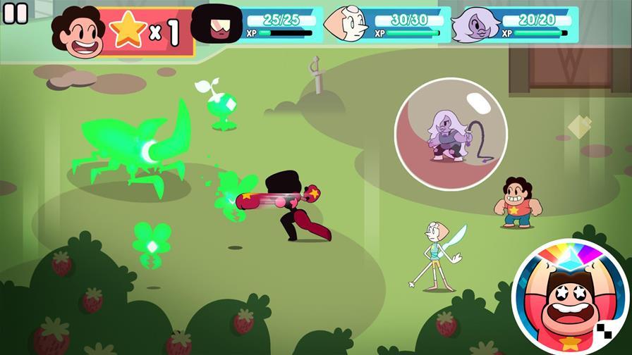 steven-universo-ataque-ao-prisma 30 Melhores Jogos RPG OFFLINE para Android e iOS