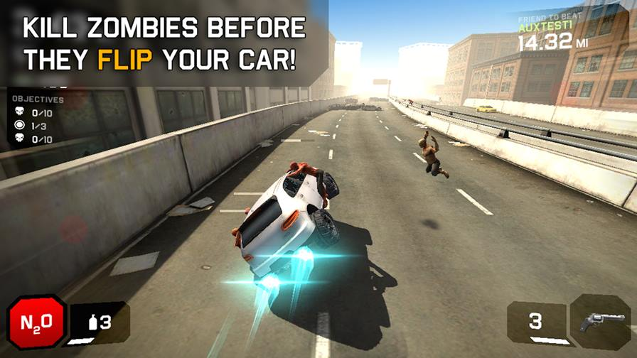 zombie-highway-2-android Melhores Jogos Offline de Zumbis para Android e iPhone