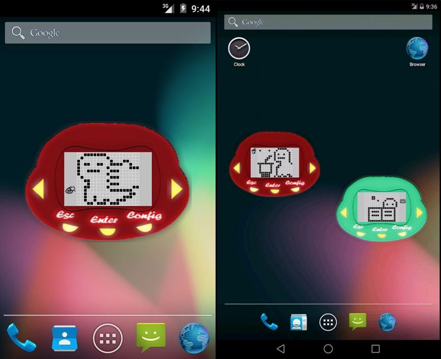 DiNostalgiaWidget DiNostalgia Widget traz de volta a onda dos bichinhos virtuais para o Android