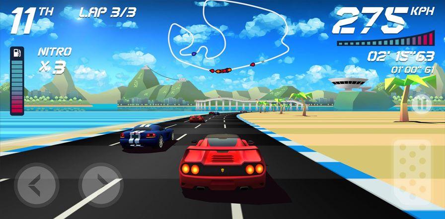 Horizon-Chase-3 Horizon Chase: jogo de corrida fantástico está em promoção por menos de R$ 5