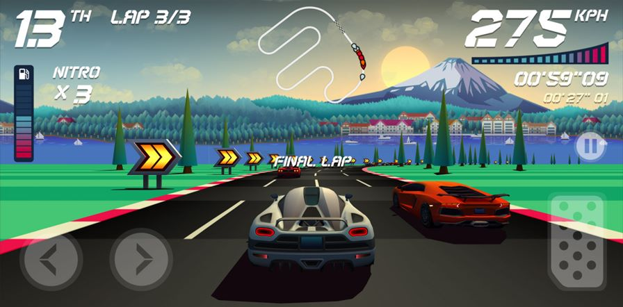 Horizon-Chase-4 Top Gear ganha sucessor espiritual no Android e iOS