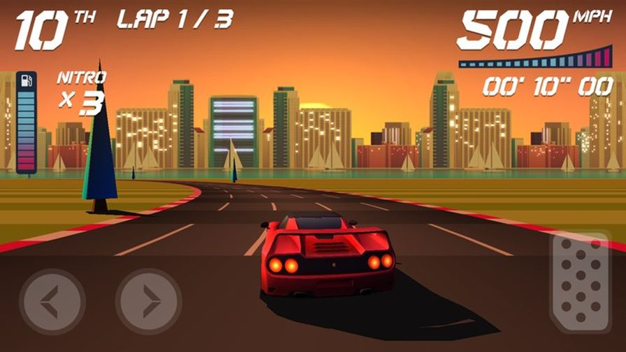 Horizon-Chase-5 Top Gear ganha sucessor espiritual no Android e iOS