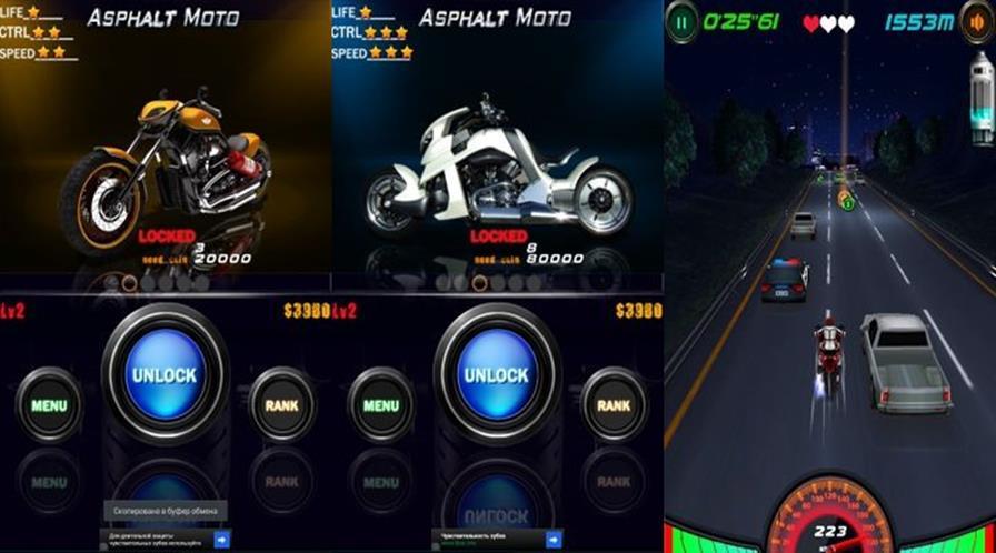 asphalt-moto Melhores Jogos de Moto para Celular ou Tablet com Android
