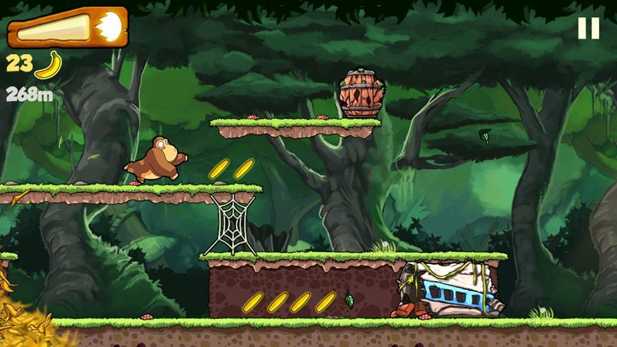 banana-kong Os 30 Jogos mais Viciantes para Celular Android e iPhone