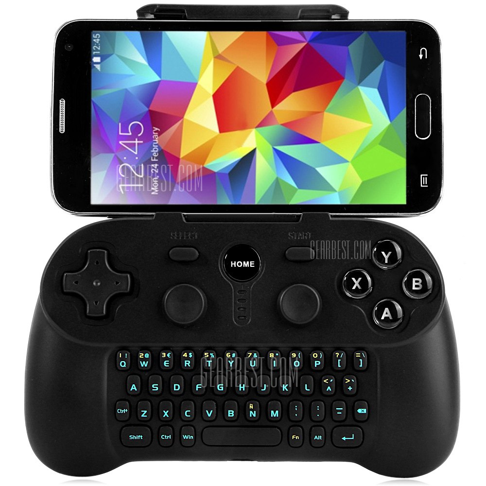 bluetooth-keyboard-gamepad GearBest: Loja chinesa tem controles bluetooth com descontos (Ípega, Xiaomi e outros)