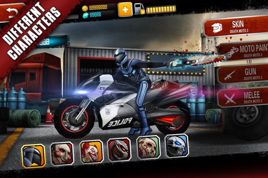 death-moto-3 25 Melhores Jogos para Android Grátis - 1º Semestre de 2015