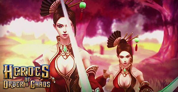 order-chaos-heroes-update- Heroes of Order & Chaos: MOBA gratuito da Gameloft ganha nova heróina