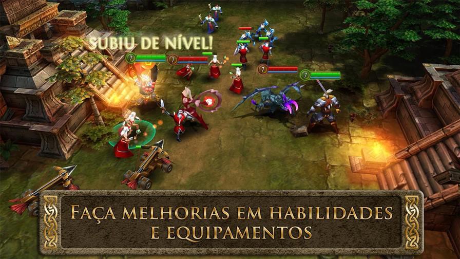 order-chaos-heroes-update-2 Heroes of Order & Chaos: MOBA gratuito da Gameloft ganha nova heróina
