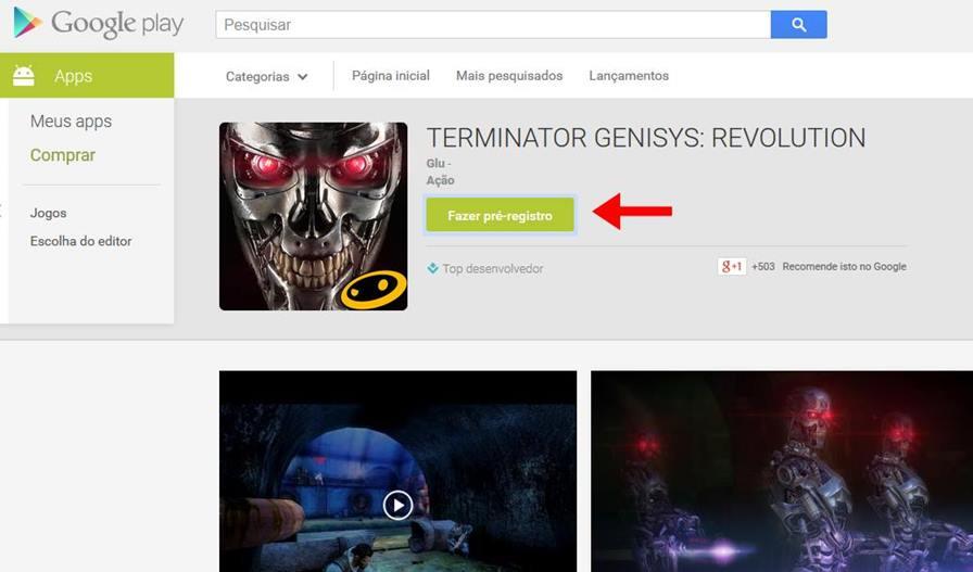 """pre-registro-google-play Google Play começa a fazer """"pré-venda"""" de jogos! Confira a novidade!"""