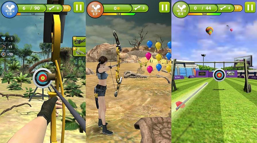tiro-mestre-3d-archery 20 Jogos Grátis para Samsung Galaxy Pocket Neo Duos