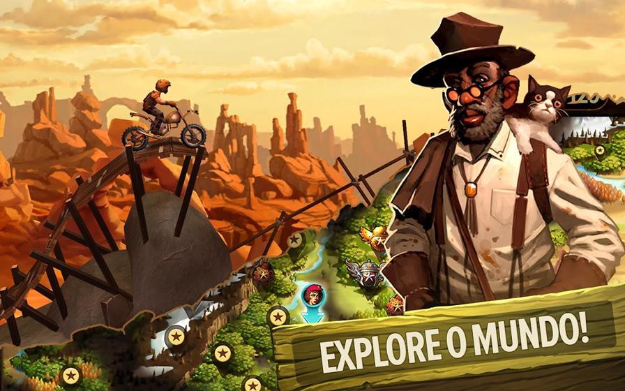 trial-frontier Melhores Jogos de Moto para Celular ou Tablet com Android