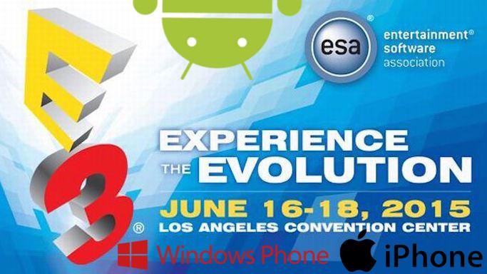 E3-2015-android-ios E3 2015: Confira os Jogos de Celular que Podem Aparecer na Feira
